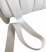 White Waistband Elastic 20mm x 25m Roll